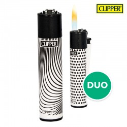 Clipper aansteker Duo wit