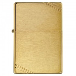 Zippo vintage brass Brush Finish