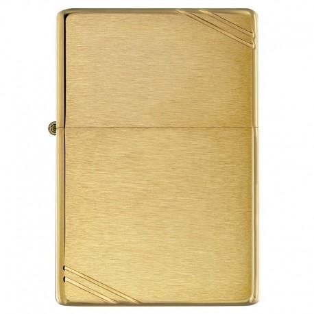 Zippo vintage brushed gold