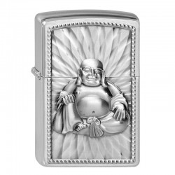 Zippo Buddha with 108 Pearls