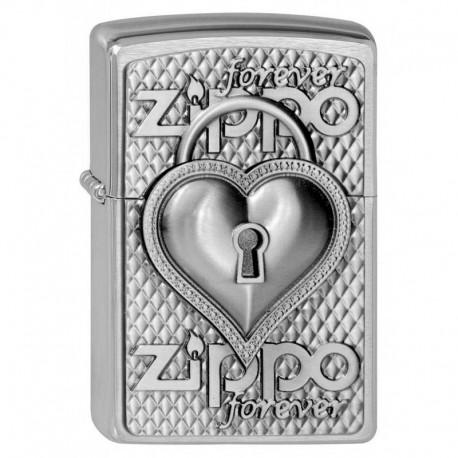 Zippo Heart Forever
