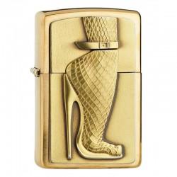 Zippo Golden High Heels