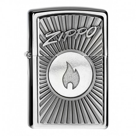 Zippo Logo with Flame