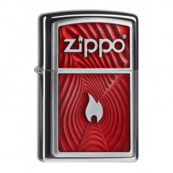 Zippo Red 3D Flame