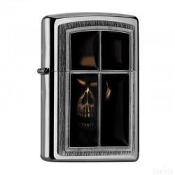 Zippo Window Skull