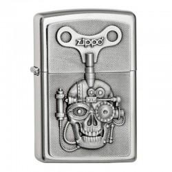 Zippo Mechanically Skull