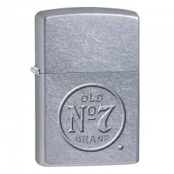 Zippo - Jack Daniels silver
