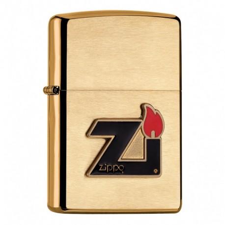 Zippo Zi Gold brushed
