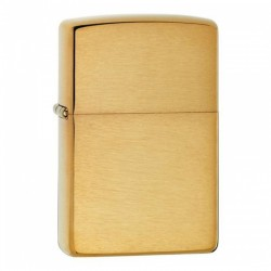 Zippo Armor Case Brass Brushed
