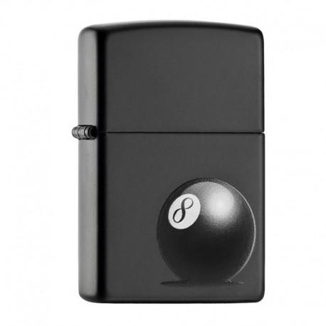 Zippo 8-ball Black