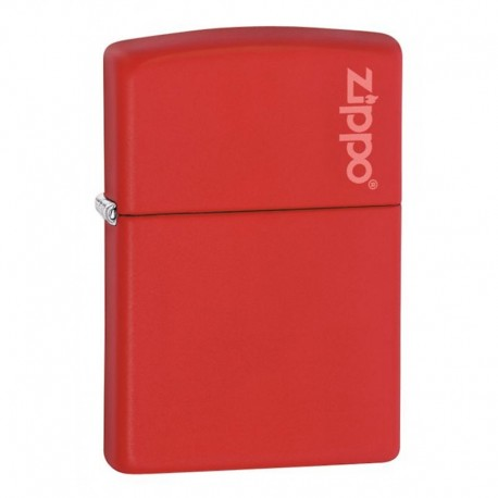 Zippo Regular Red Matte Logo