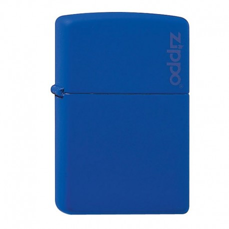 Zippo Regular Blue Matte logo