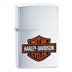 Zippo Harley Davidson Bar & Shield zilver
