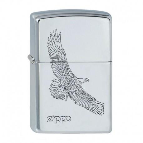 Zippo Eagle Chrome