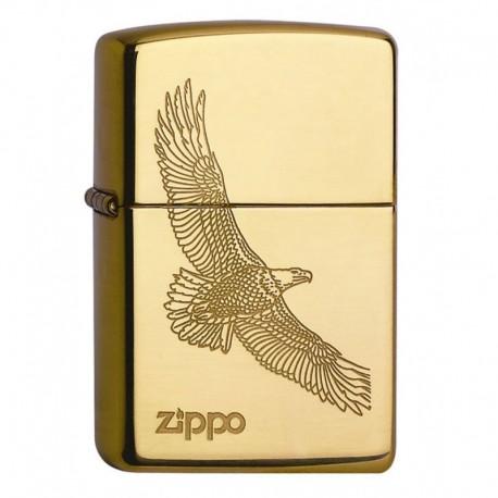 Zippo Eagle Brass gold