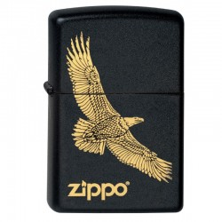 Zippo Eagle Black and Gold