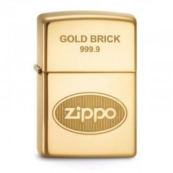 Zippo Gold Brick 999.9