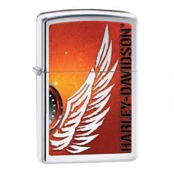 Zippo Harley Davidson orange