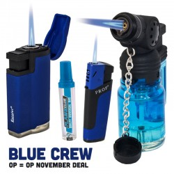 Blue Crew aansteker deal