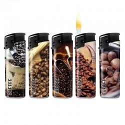 Wegwerpaansteker Koffie