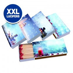 Winter Kerst XXL lucifers
