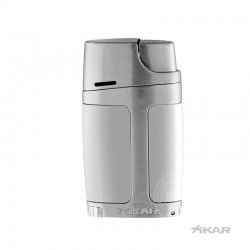 Xikar double jetflame ELX zilver