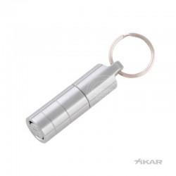 Xikar sigarenboor twister 11mm zilver