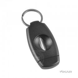Xikar V Cutter sleutelhanger zwart