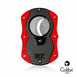Colibri Sigarenknipper Monza zwart rood