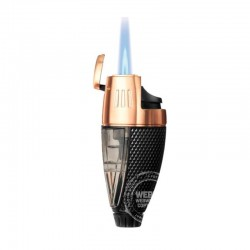 Colibri Talon jet-flame aansteker Black Rose Gold