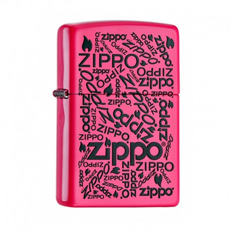 Zippo Neon Pink