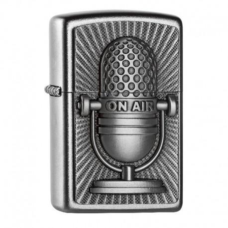 Zippo Microphone Retro