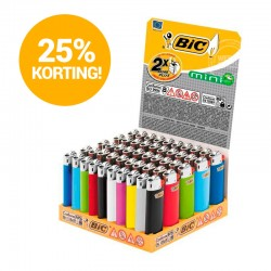 BIC mini J25 50x display