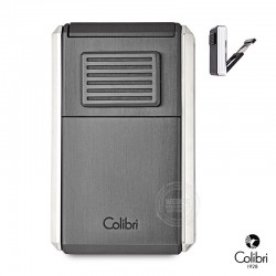 Colibri Astoria sigaren jetflame chroom brushed