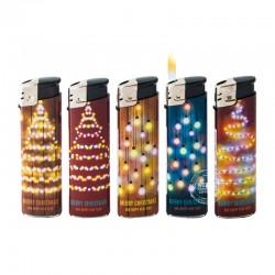 Wegwerpaanstekers kerstlampjes