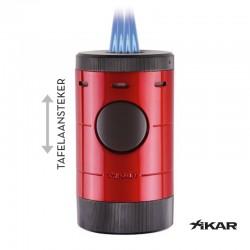 Xikar Volta tafelaansteker rood