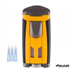 Xikar JP3 triple jet geel