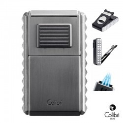 Colibri Astoria 2020 sigaren jetflame chroom brushed