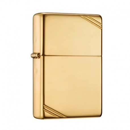 Zippo Vintage High polished chrome