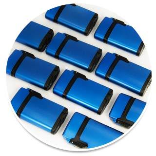 blauwe aansteker