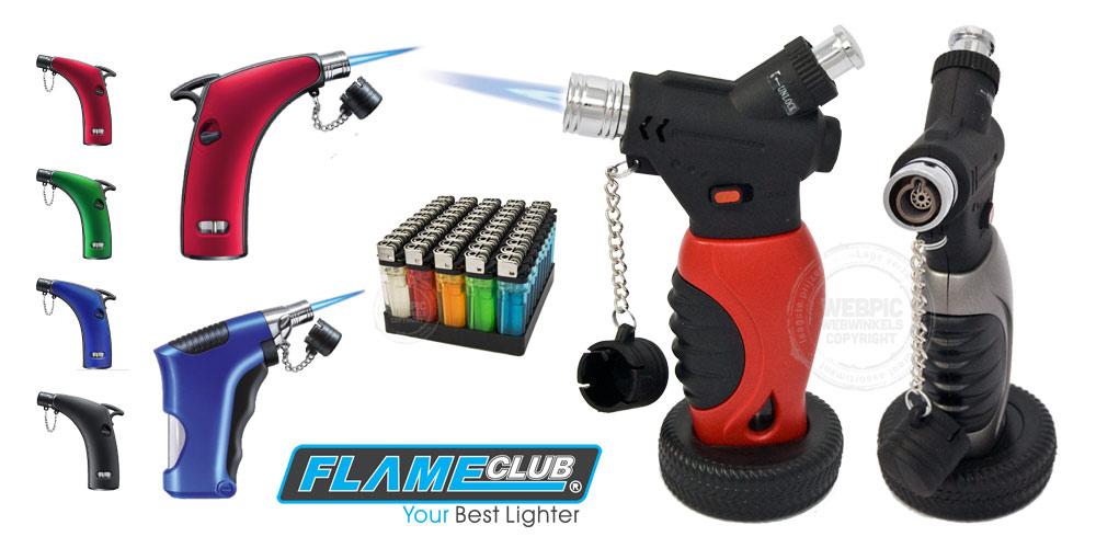 aansteker merk flameclub