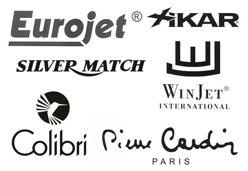 luxe aansteker logo's