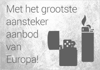Grootste aansteker aanbod van nederland