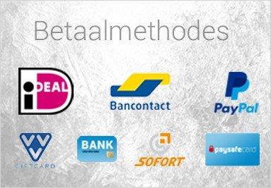 Onze betaalmethodes